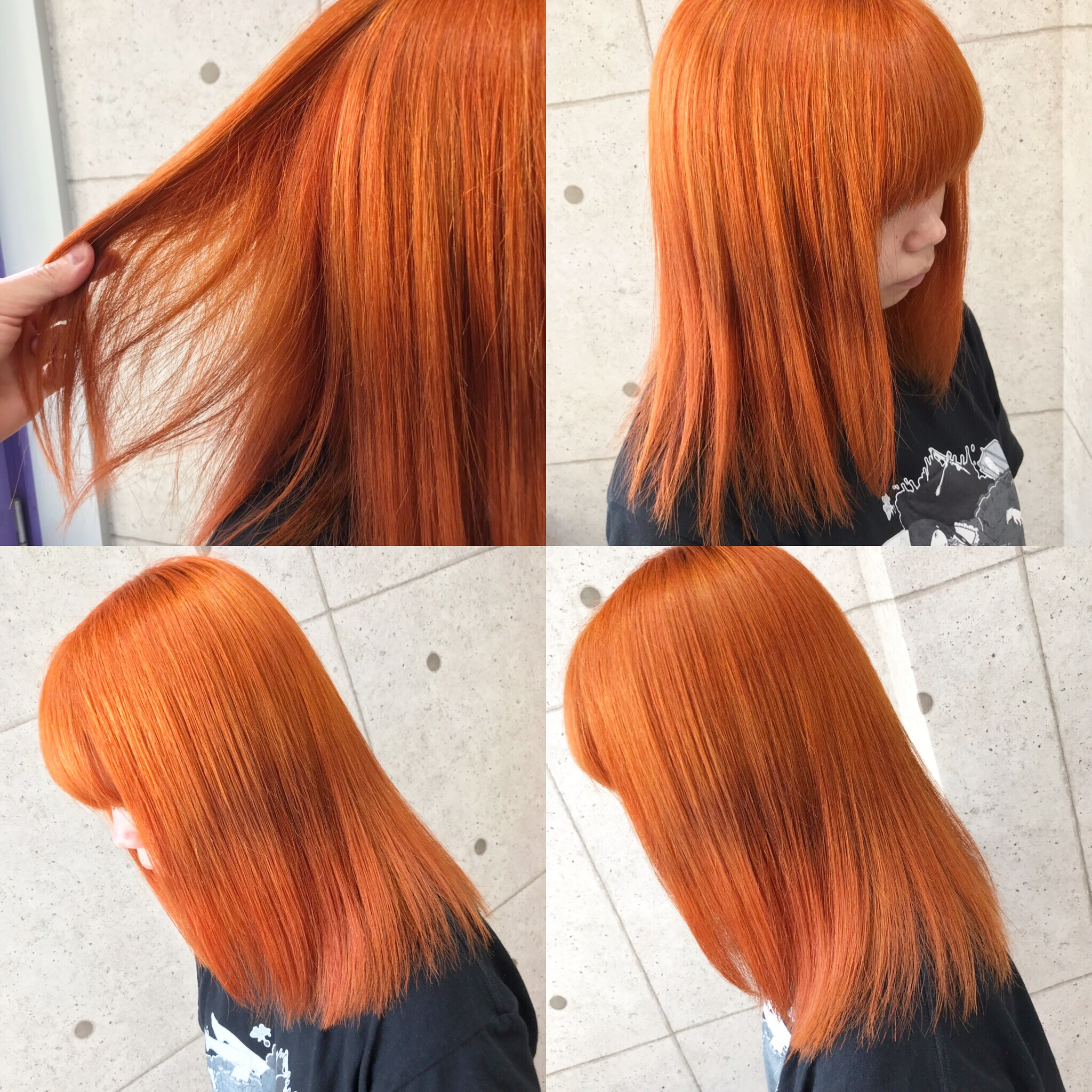 高彩度オレンジカラー