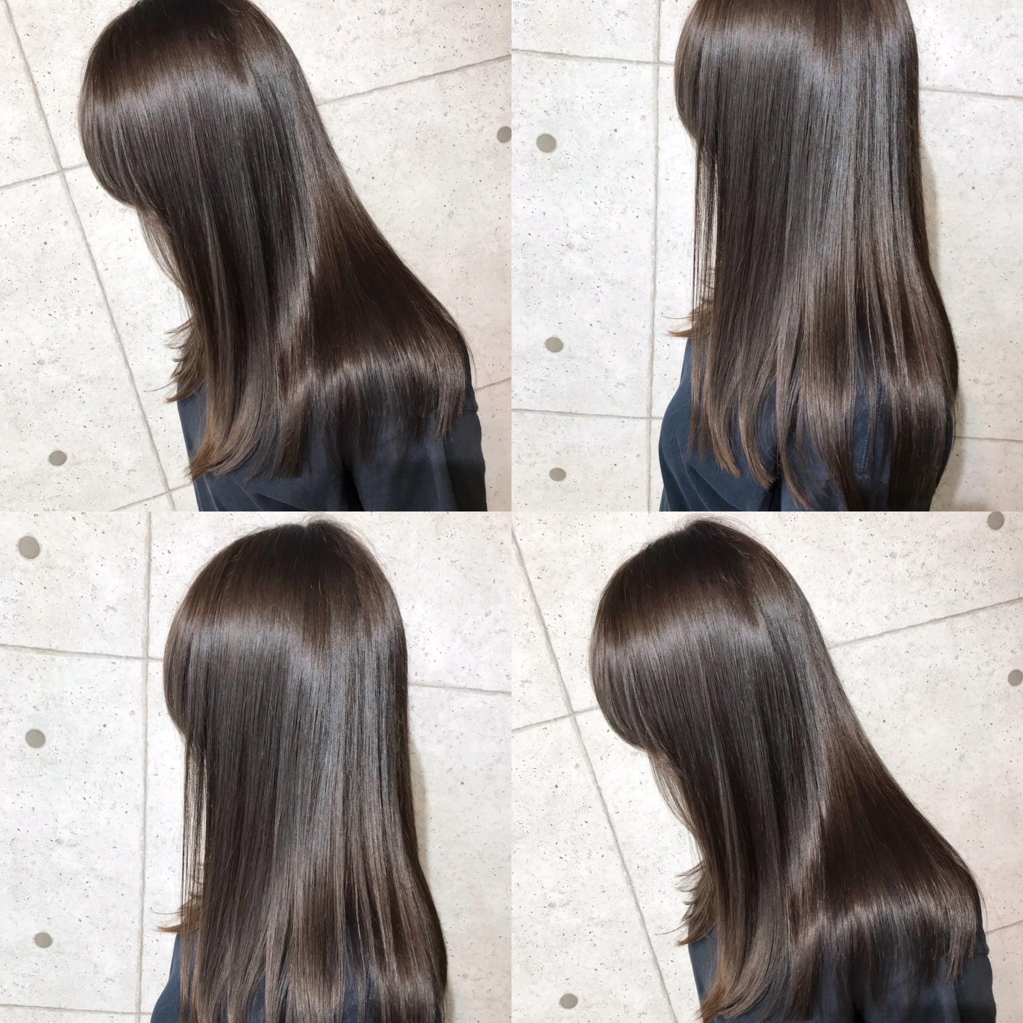 髪質改善トリートメント×うるつやストレート